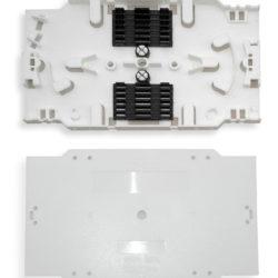 Optinė / šviesolaidinė 12-kos skaidulų sujungimo kasetė