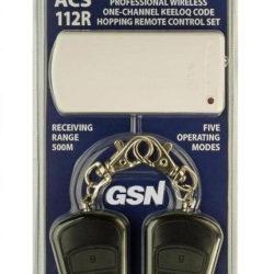 Radiobanginis komplektas GSN ACS-112R 1-ch