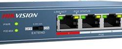 Komutatorius Hikvision DS-3E0105P-E