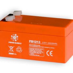 Akumuliatorius POWER BUBBLE 1.3Ah 12V