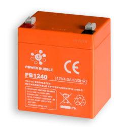 Akumuliatorius POWER BUBBLE 4Ah 12V