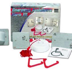 Neįgaliųjų WC iškvietimo sistema NC951 (plastikiniai rėmeliai)